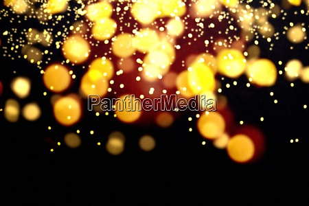 abstract yellow lights