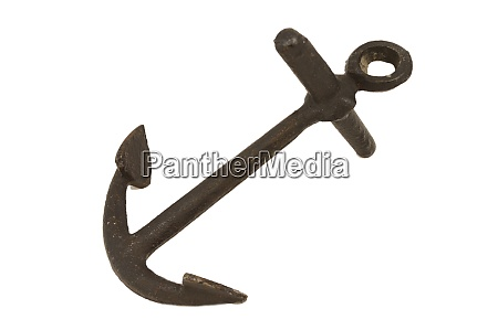 iron boat anchor