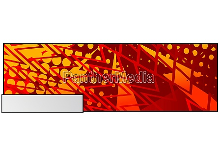 comic book colored background for banner