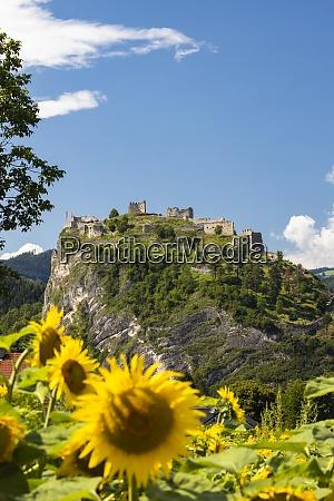 griffen ruins in carinthia region austria