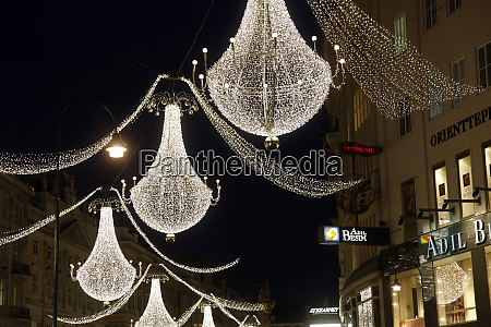 christmas decoration in vienna