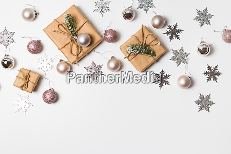 christmas greeting card gift boxes and
