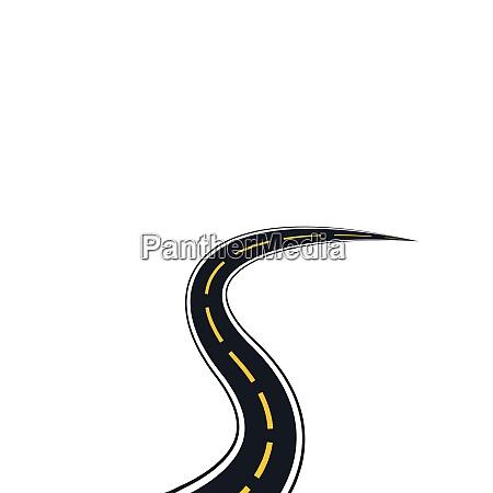 way logo and symbol vector illustration