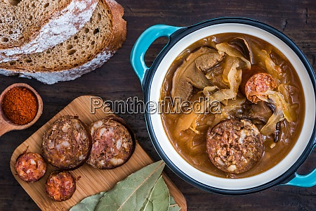 cabbage soup kapustnica