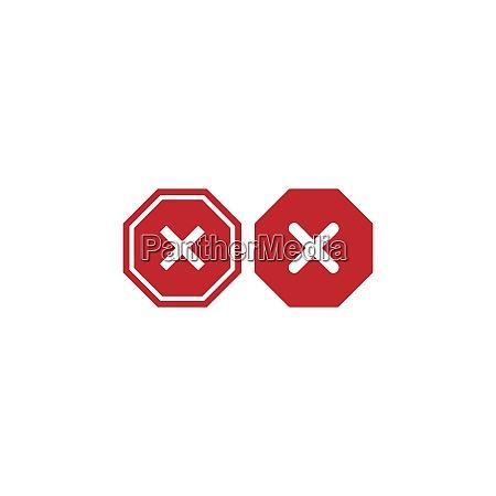 traffic signal signs icon design