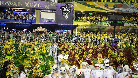 samba, parade, at, the, 2020, carnival, champions - 29041507