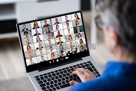 online business video conference