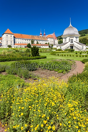 st lambrechts abbey in styria austria