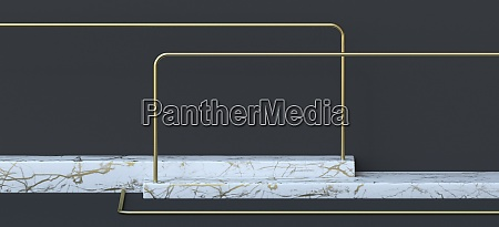 abstract background horizontal white marble pedestal