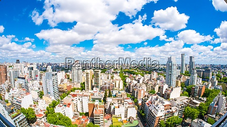 view of the skyline of buenos