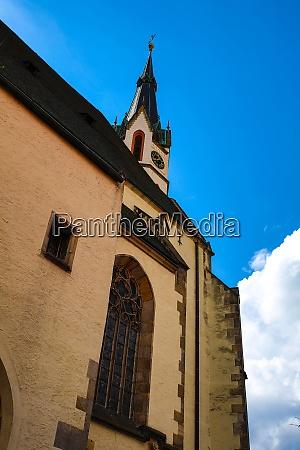 historic architecture in krumlov