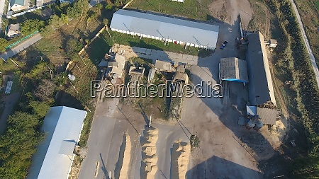 hangar for storage of grain a