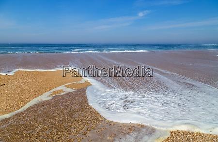 beautiful beach in aveiro