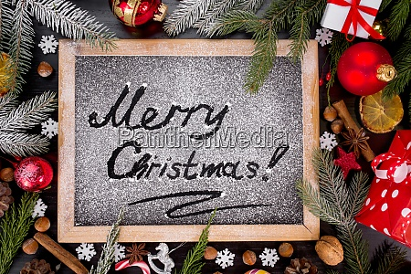 merry christmas holiday background black