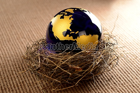 sheltered earth globe