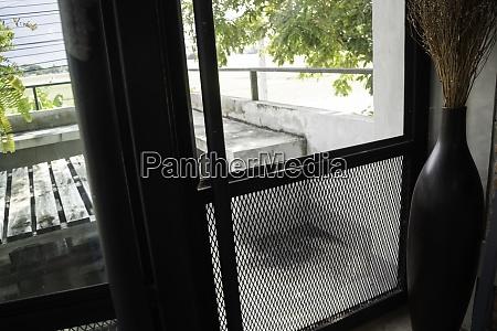 vintage loft house interior in summer