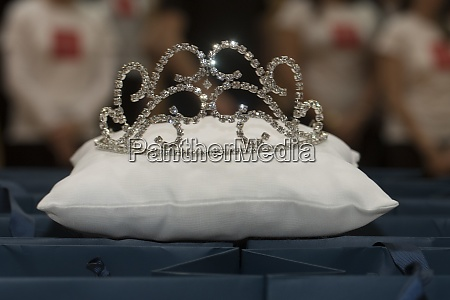 crown or coronet on a white
