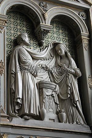 engagement of virgin mary st eustache