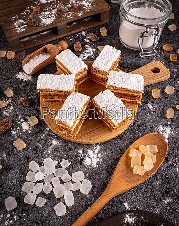 homemade layered mini cake