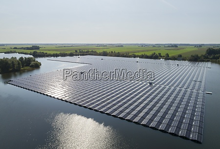 a floating solarfarm that has just