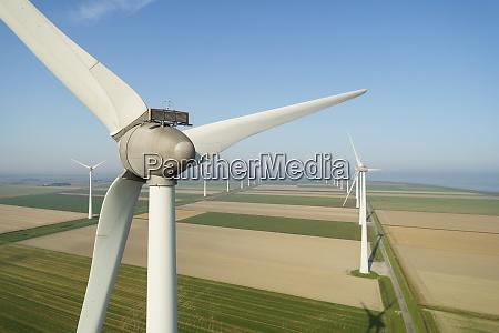 wind turbines in the eemshaven area