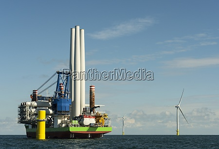 very large offshore wind farms being