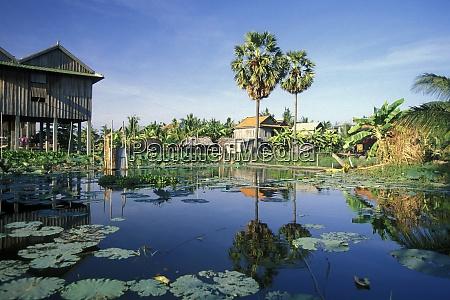 cambodia village house
