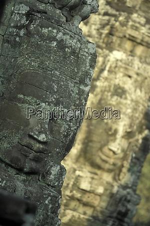 cambodia siem reap angkor thom bayon