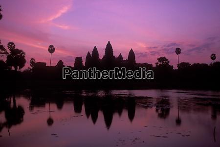 cambodia siem reap angkor wat temple