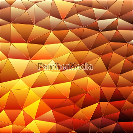 abstract stained glass triangle mosaic background