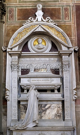 tomb of gioachino rossini funerary monument
