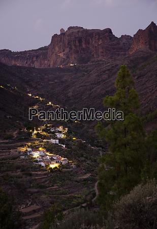 village and ravine of el juncal