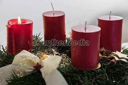 advent wreath advent season close