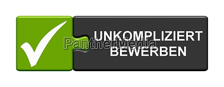puzzle button apply uncomplicated in german