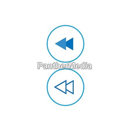 media player button icon design