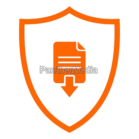 document download and shield