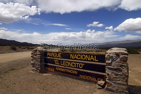 roads in the national park el
