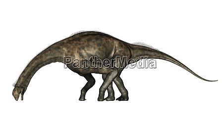 atlasaurus dinosaur 3d render