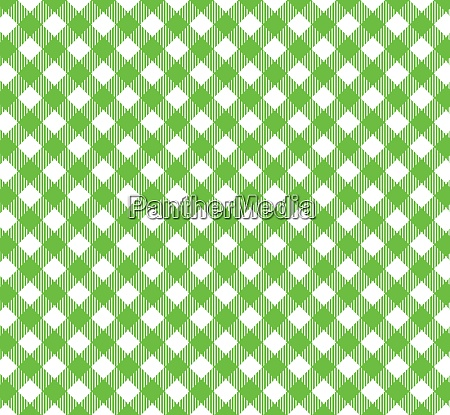 checkered tablecloth backgound green and white