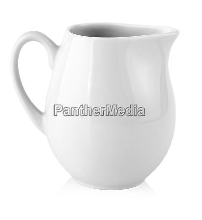 milk jug for milk on a