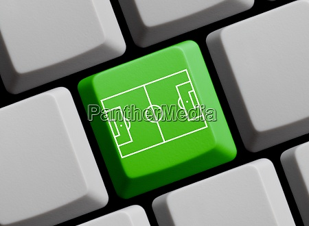football stadium or soccer pitch on