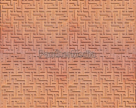 the patterned metal abstract background selective
