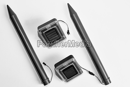 ultrasonic device for repelling moles and