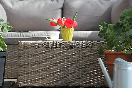 outdoor furniture lounge group with chairs