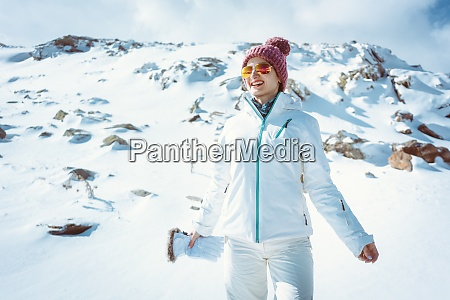woman enjoying a hike on her