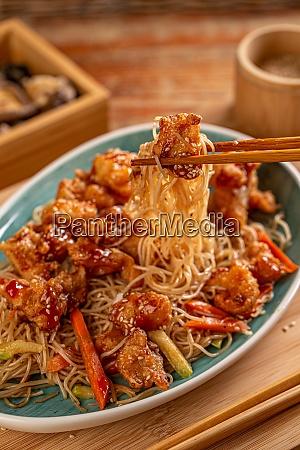 spicy stir fried chicken