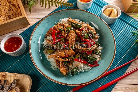 asian style menu