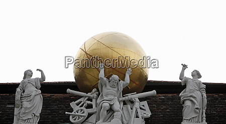 atlas supporting the celestial globe