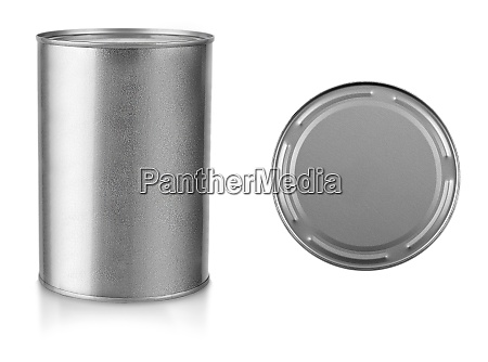 gray metal closed pot cut out