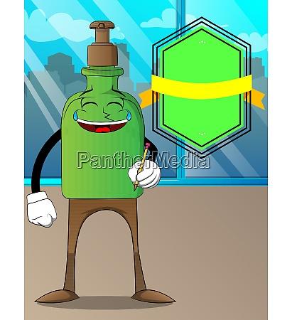 bottle, of, hand, sanitizer, holding, a - 29093651